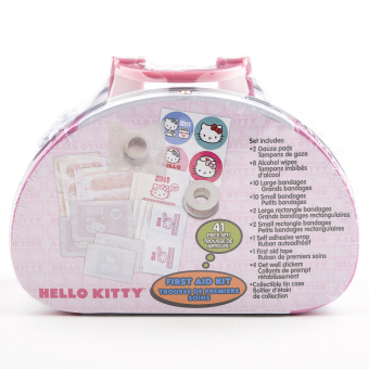 Hello Kitty 41 pc First Aid Kit - 2