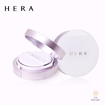 HERA UV Mist Cushion Cover SPF50+/PA+++ #C13 Ivory Cover (15g + a refill 15g)