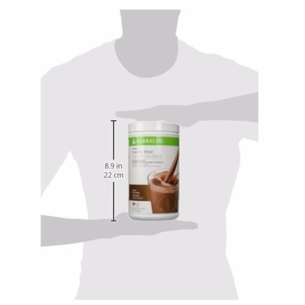 Herbalife F1 Slimming Nutritional Shake Mix 550g Canister (Dutch Choco)) - 5
