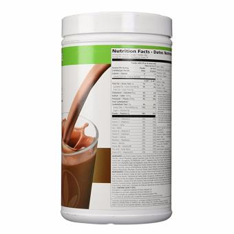 Herbalife F1 Slimming Nutritional Shake Mix 550g Canister (Dutch Choco)) - 2