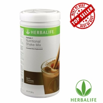 Herbalife F1 Slimming Nutritional Shake Mix 550g Canister (Dutch Choco))