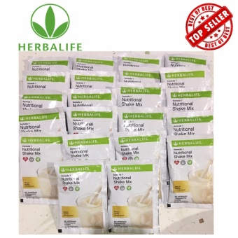 Herbalife Formula 1 Slimming Nutritional Shake Mix 22 Sachets (French Vanilla)