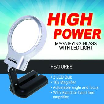 High Power Magnifying Glass with LED light