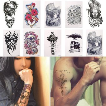 Hight Quality Store New Sexy Large Temporary Tattoo Arm Body ArtRemovable Waterproof Sticker