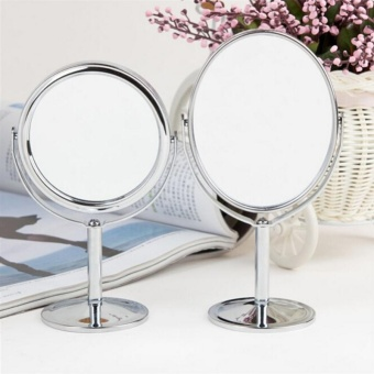 Hight Quality Store New Table Standing Dresser Double SidedMagnification Makeup Mirror 4 Inches Lady Beauty - 4