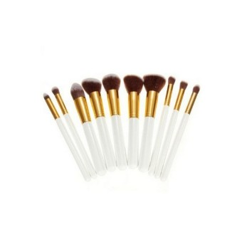 HKS Professional Makeup Brushes Beauty Accessories Set of 10 (Intl)