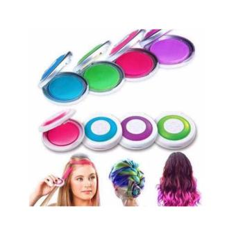 Hot huez hair coloring with 4 color compacts