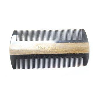 Hua Mulan OXGSW YH7-7 Ox Horn and Sandalwood Comb