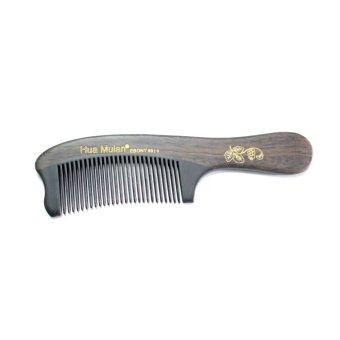 Hua Mulan Wood Integrated Ebony Comb