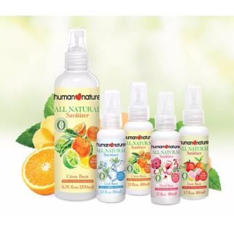 Human Heart Nature All Natural Sanitizer Set of 4