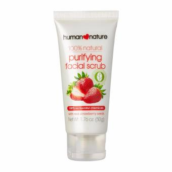 Human Nature 100% All Natural Purifying Facial Scrub 50g
