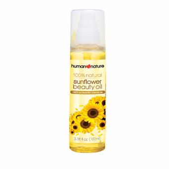 Human Nature 100% Natural Sunflower Beauty Oil 100ml