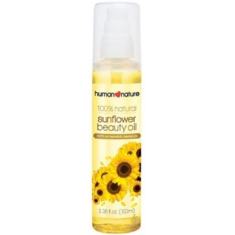 Human Nature 100% Natural Sunflower Beauty Oil 50ml
