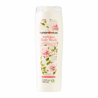 Human Nature Natural Body Wash 200ml in Rose Bouquet