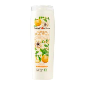 Human Nature Natural Body Wash 200ml in Vanilla Peach