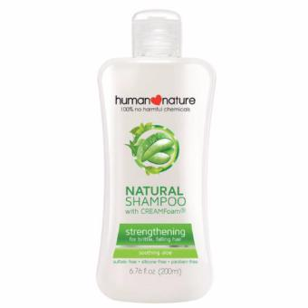 Human Nature Natural Moisturizing Shampoo Soothing Aloe 200ml