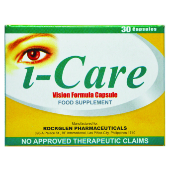 i-Care Vision Formula Capsule Price Philippines