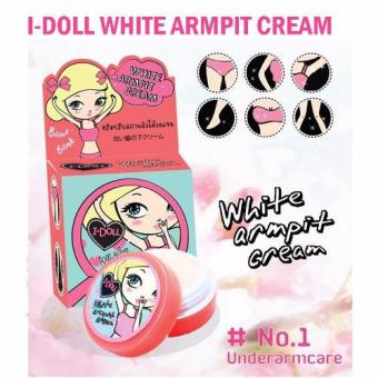 I-Doll White Armpit Cream Underarms Bikini Whitening LighteningPink Nipples 5gm Price Philippines