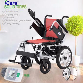 iCare(R)E310 Electric Wheelchair Solid Wheel w/FREE BP Price Philippines