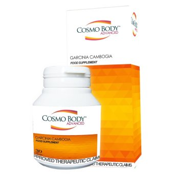 Cosmo Body Advance Garcinia Cambogia Bottle of 30 (Orange) Price Philippines