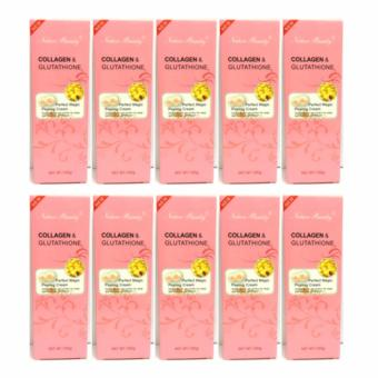 Harga Set of 10 Nature Beauty Collagen & Glutathione Peeling Gel