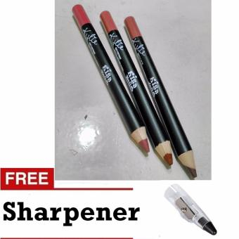 Harga Lip Liner Lipstick Pencil (3 Pcs.)