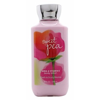 Harga bath and body works sweet pea bodly lotion 236ml