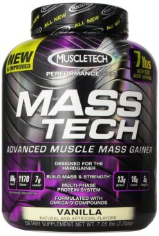 Muscletech Masstech Performance Supplement 7.05 Pounds (Vanilla) Price Philippines