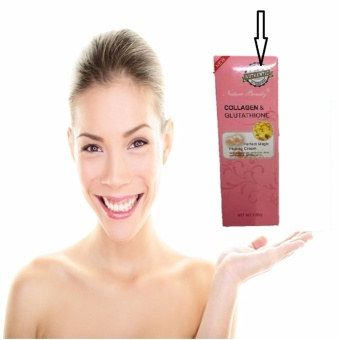 Harga Nature Beauty Collagen and Glutathione Peeling Cream Whitening