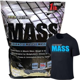 Harga ProMatrix Mass Advanced Muscle Mass Gainer 11lbs Vanilla with Dri Fit Shirt