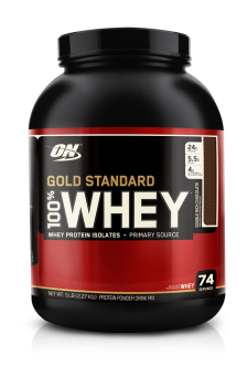 Harga Optimum Nutrition Gold Standard 100% Whey 5lbs (Double Rich Chocolate)