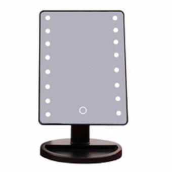 Impressions Vanity Touch Dimmable LED Makeup Mirror Glossy (Black) Price Philippines