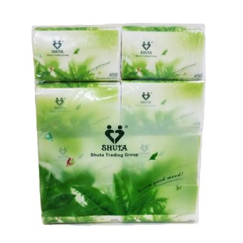 Harga Shuta Green Tea Facial Tissue 450 Sheets By 8's Buy 2 Get 1 Pack For Free