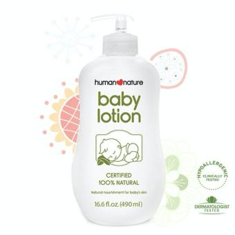 Harga Human Heart Nature Natural Baby Lotion 190ml