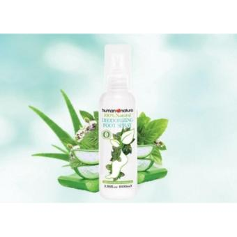 Harga Human Nature 100% Natural Deodorizing Foot Spray