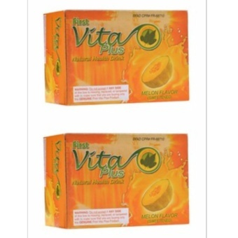 Harga First Vita Plus Natural Health Drink Melon 20 sachets By 2s