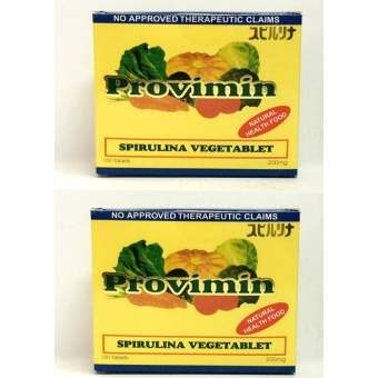 Provimin Spirulina VegeTablet 200mg Box of 150's Set of 2 Price Philippines