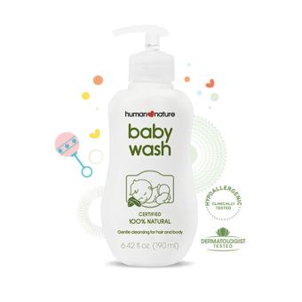 Harga Human Heart Nature Natural Baby Wash 190ml