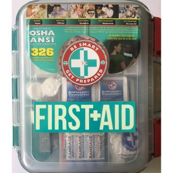 326 Pieces of OSHA Quality First Aid Supplies Kit Assembled in USA Price Philippines
