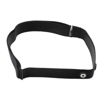 Harga CHEER Heart Rate Monitor Sensor Strap for Polar Wahoo GARMIN 35 (Black) - Intl