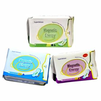 Harga LONG RICH Day Use, Night Use and Panty Liner, All with Magnetic Energy, Anion, Far Infrared Set of 3packs