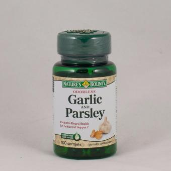 Harga Nature's Bounty Odorless Garlic and Parsley 100 Softgels
