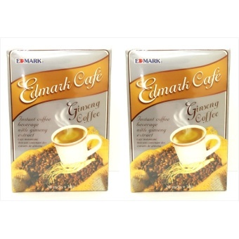 Harga Edmark Cafe Ginseng Coffee Sachet 18g Box of 20 by 2s