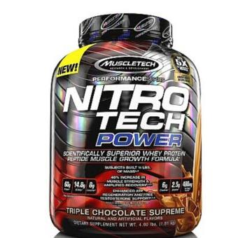 Muscletech Nitrotech Power 4 lbs. chocolate Price Philippines