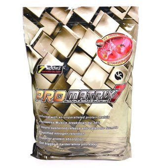 Harga ProMatrix 7 Multiple Source Protein 5lbs (Strawberry)