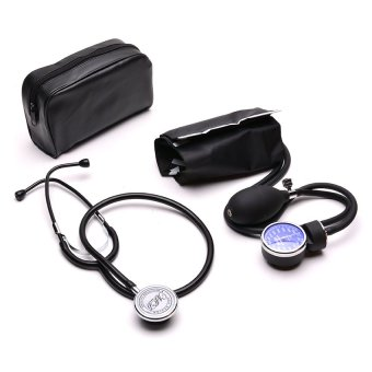 Harga MDhealth Aneroid Sphygmomanometer with Stethoscope Blood Pressure Monitor