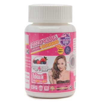 Gluta Nano Super White Glutathione 800,000mg Softgel Bottle of 30 Price Philippines