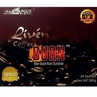 Harga BURN Liven Coffee (Burn Under Right Nutrition)