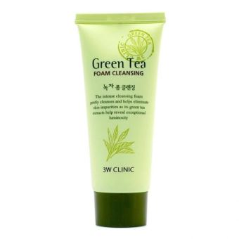 3W CLINIC GREEN TEA CLEANSING FOAM Price Philippines