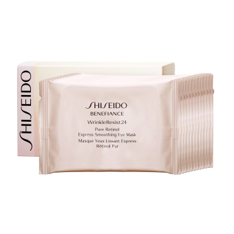 Harga Shiseido Benefiance WrinkleResist 24 Pure Retinol Express Smoothing Eye Mask 2 patches x 12sachets - intl
